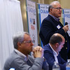 2020 Third House Session hosted by the Greater Kokomo Chamber of Commerce on February 21, 2020, at the Bel Air. Representative Tony Cook, Mike Karickhoff and Heath VanNatter along with Senator Jim Buck talk and answer questions about the present legislative session.<br /> Tim Bath | Kokomo Tribune