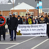 The Community Ecumenical Service Honoring Rev. Dr. Martin Luther King, Jr. starting at Second Missionary Baptist Church on January 20, 2020. The service concluded with a march to the MLK Memorial down Apperson Way.<br /> Tim Bath | Kokomo Tribune