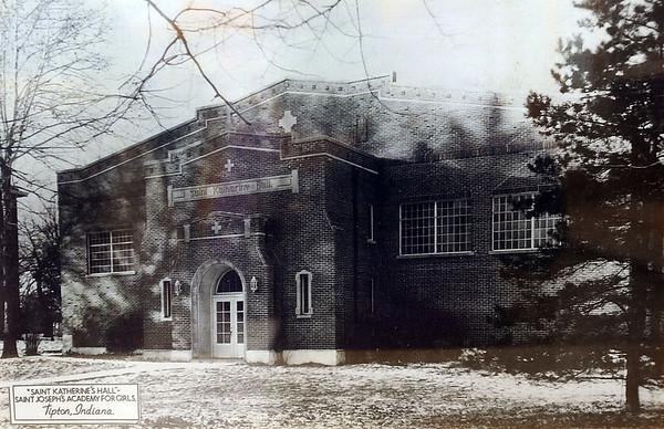 The Saint Katherine Hall, the gymnasium for the Saint Joseph Academy located in Tipton, Indiana, was constructed in 1932.<br /> Tim Bath | Kokomo Tribune