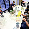 Kokomo Urban Outreach programs that teach kids life skills and helps them earn some money on January 27, 2020. Gaven Bowen, Charles Miller, Dayton Phelps, Jaeley Shuck, Gage Scoles and Riley Durham all paint mason jars as part of the project they are working on.<br /> Tim Bath | Kokomo Tribune