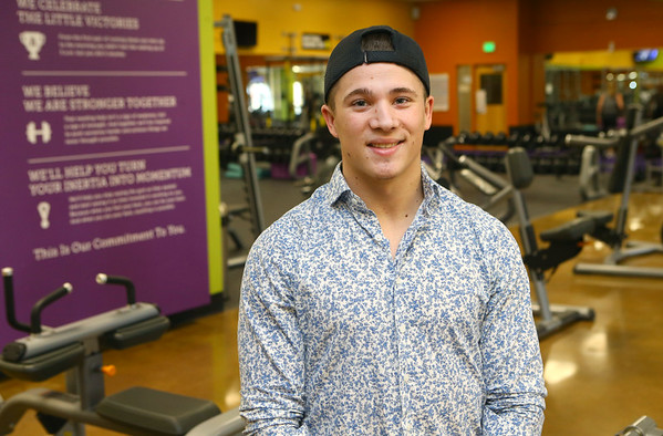 Manager of Tipton's Anytime Fitness Dakota Cole was on Undercover Boss when brand president of Anytime Fitness came for a visit.<br /> Kelly Lafferty Gerber | Kokomo Tribune
