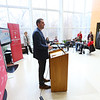 Indiana University Kokomo officials announce the launch of a $3 million fund raising campaign to help pay for the new Student Activities and Event Center on January 27, 2020. Athletic Director Greg Cooper talks about what the new facility will mean to the sports program.<br /> Tim Bath | Kokomo Tribune
