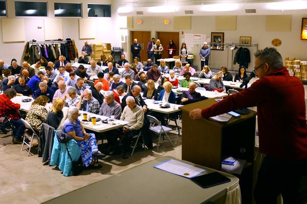 The Mayor's Prayer & Action Breakfast on January 6, 2020.<br /> Tim Bath   Kokomo Tribune