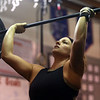 Allysha Smith lifts weights at CrossFit Kokomo on January 4, 2020.<br /> Kelly Lafferty Gerber | Kokomo Tribune