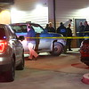 Two people were found with gunshot wounds at Casey's in Greentown at 900 West and Ind 22 on Monday evening January 13, 2020. Investigating are Howard County Sheriff's Department, Greentown Police and the Howard County Coroner.<br /> Tim Bath   Kokomo Tribune