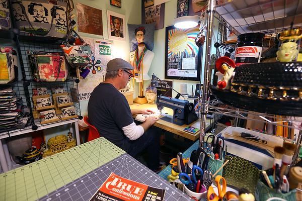 Scotty Jones, Master Artist, sells his product under the name Urthy Fiber on January 17, 2020.<br /> Tim Bath   Kokomo Tribune