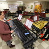 Western High School student Madelyn Kunkle practicing the Xylophones with classmates on January 21, 2020. Kunkle has been invited to play at Carnegie hall in NYC.<br /> Tim Bath | Kokomo Tribune