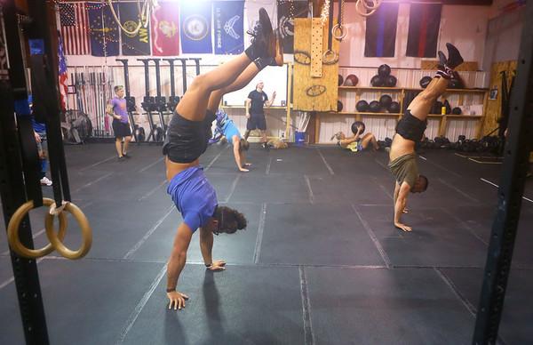 Participants workout at CrossFit Kokomo on January 4, 2020.<br /> Kelly Lafferty Gerber | Kokomo Tribune