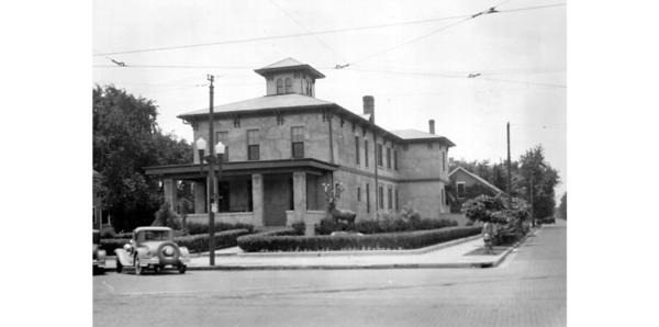 Elks Club, Peru IN: front view.<br /> Data ProviderAllen County Public Library