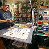 Scotty Jones, Master Artist, sells his product under the name Urthy Fiber on January 17, 2020.<br /> Tim Bath | Kokomo Tribune