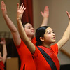 Ellianna Vinluan, 15, peerforms with Faith in Motion during the Dr. Martin Luther King, Jr. Celebration at Second Missionary Baptist Church on Saturday, Jan. 18, 2020.<br /> Kelly Lafferty Gerber   Kokomo Tribune