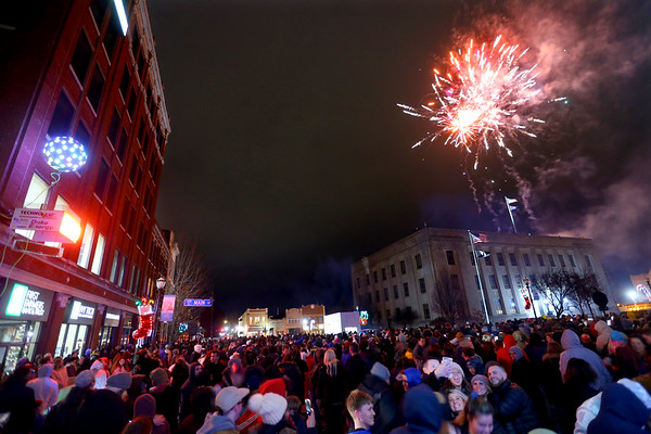 Downtown Kokomo festivities ringing in the New Year on December 31, 2019 and January 1, 2020.<br /> Tim Bath | Kokomo Tribune