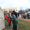 The Community Ecumenical Service Honoring Rev. Dr. Martin Luther King, Jr. starting at Second Missionary Baptist Church on January 20, 2020. The service concluded with a march to the MLK Memorial down Apperson Way where a wreath was placed.<br /> Tim Bath | Kokomo Tribune