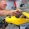 Chuck Fowler makes his own RC airplanes on January 8, 2020.<br /> Tim Bath | Kokomo Tribune