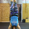 Laura Conkle does a walking handstand across the floor at CrossFit Kokomo on January 4, 2020.<br /> Kelly Lafferty Gerber | Kokomo Tribune