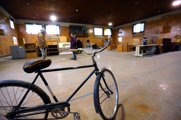 The Saint Katherine Hall, the gymnasium for the Saint Joseph Academy located in Tipton, Indiana, on January 17, 2020. <br /> Tim Bath   Kokomo Tribune