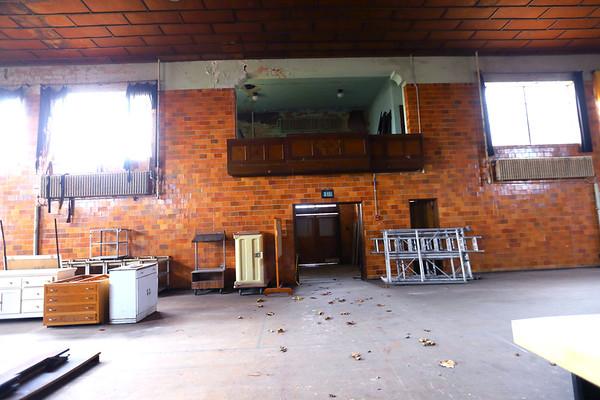 The Saint Katherine Hall, the gymnasium for the Saint Joseph Academy located in Tipton, Indiana, on January 17, 2020. <br /> Tim Bath | Kokomo Tribune