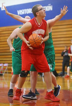 Special Olympics of Howard County basketball tournament at Kokomo High School on Saturday, January 11, 2020.<br /> Kelly Lafferty Gerber | Kokomo Tribune