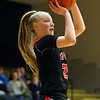 1-29-19<br /> Taylor vs Alexandria girls basketball<br /> Taylor's Kelsi Langley shoots.<br /> Kelly Lafferty Gerber | Kokomo Tribune