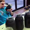 Kokomo Urban Outreach programs that teach kids life skills and helps them earn some money on January 27, 2020. Gavan Bowen, 11, painting mason jars as part of the project they are working on in the Up Program.<br /> Tim Bath | Kokomo Tribune