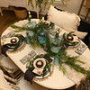 Karen Horton's table setting on Jan. 24, 2020.<br /> Kelly Lafferty Gerber | Kokomo Tribune