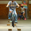 6-year-old Evan Shaffer participates in the Howard County 4-H Fair's Bicycle Rodeo on Thursday, July 9, 2020.<br /> Kelly Lafferty Gerber | Kokomo Tribune