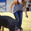 Lavender Smith - <br /> Showing swine in the Howard County 4-H Fair on July 17, 2020.<br /> Tim Bath | Kokomo Tribune