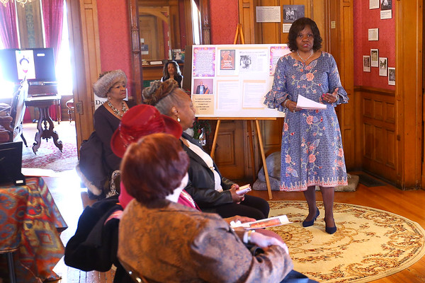 Black Women in the Middle West open house at the Seiberling Mansion on Sunday March 15, 2020. Tim Bath | Kokomo Tribune