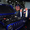 FCA announces their investment of $400 million to convert the ITP II plant into an engine assembly plant while also changing the name to Kokomo Engine Plant or KEP on March 5, 2020. Mayor Tyler Moore, Governor Eric Holcomb and COO of FCA NA Mark Stewart talk about the engine and the Jeep Rubicon that it is in.<br /> Tim Bath | Kokomo Tribune