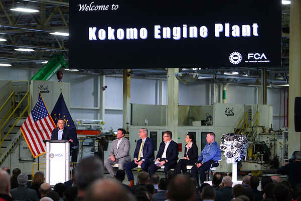 FCA announces their investment of $400 million to convert the ITP II plant into an engine assembly plant while also changing the name to Kokomo Engine Plant or KEP on March 5, 2020. Tim Bath | Kokomo Tribune