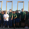 Ezra Spencer earned his Eagle Scout award after he designed and supervised the building of a K-9 agility course.<br /> Photo Provided