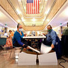 Early ballots being separated from the envelopes so they can be fed into the counting machines on election day Nov. 3, 2020, in the lobby of the Howard County Courthouse. Jennifer Ormsby and Ron Stites along with about 30 other workers working throughout Tuesday.<br /> Tim Bath | Kokomo Tribune
