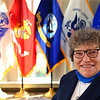 Lottie Shaffer is a retired Air Force veteran who lives at Jackson Street Commons  - Nov 2, 2020. <br /> Tim Bath | Kokomo Tribune