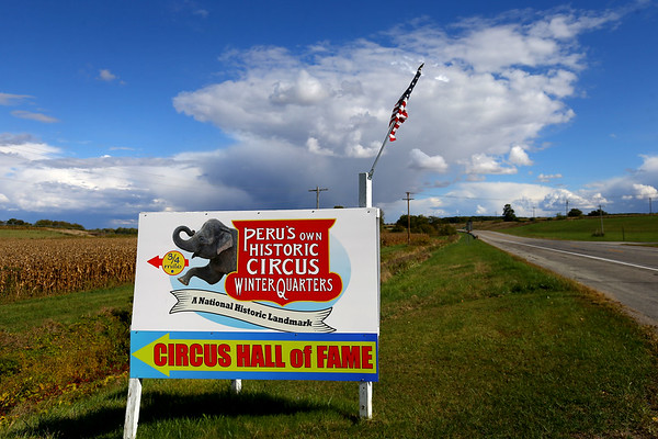 Circus Hall of Fame improvements including a new sign and a new roof that is going to be installed on Oct 1, 2020.<br /> Cole Wise<br /> Tim Bath | Kokomo Tribune