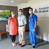 The City of Kokomo and Howard County employees new clinic on Sept 1, 2020. Ashley Brown, NPS, Philip Johnson, MD, and Aaron Rogers, RN.<br /> Tim Bath | Kokomo Tribune
