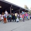 8-2-21<br /> First day of school for Kokomo's Wallace Elementary School of Integrated Arts on Monday.<br /> Tim Bath   Kokomo Tribune