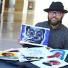 2-3-21<br /> JC Barnett III is a watercolor artist that works at IUK. He currently has a collection he's just done of Black leaders throughout history like Madame CJ Walker, George Washington Carver, etc.<br /> Tim Bath   Kokomo Tribune