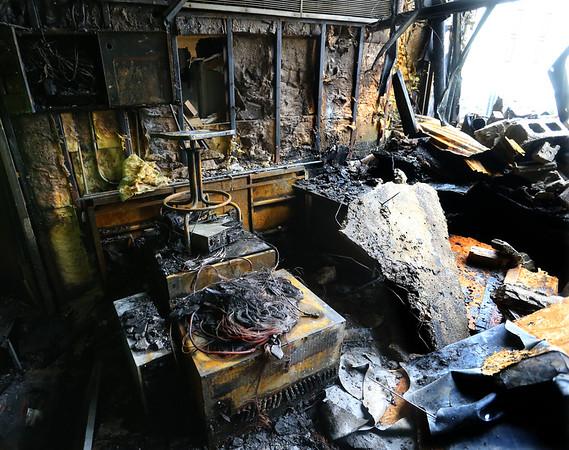 Kokomo Tribune fire that started about 3:45 a.m. on Jan. 5, 2021. Tim Bath | Kokomo Tribune