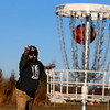 Tommy Ray plays a little disc golf at the new course behind the Stout Community Center in Russiaville on Jan. 26, 2021.<br /> Tim Bath | Kokomo Tribune