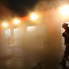 Kokomo firefighters battle a fire at the Kokomo Tribune that started about 3:45 a.m. on Jan. 5, 2021.<br /> Tim Bath   Kokomo Tribune