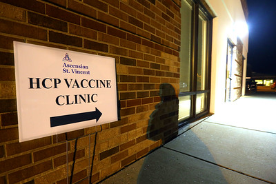 St. Vincent vaccine clinic is set up in the St. Vincent Education Center at 615 St. Joseph Dr. Tim Bath | Kokomo Tribune