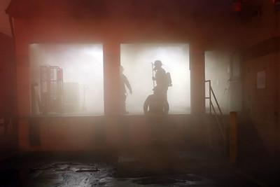 Kokomo firefighters battle a fire at the Kokomo Tribune that started about 3:45 a.m. on Jan. 5, 2021. Tim Bath | Kokomo Tribune
