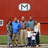 From left: Pam and Fred Musselman, Maury Musselman, Kyle and Leah Musselman and their kids Hayden, 6, and Kasen, 4, on Thursday, July 1, 2021.<br /> Kelly Lafferty Gerber | Kokomo Tribune