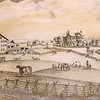 A drawing of part of the farm in an 1877 atlas. The buildings are still standing and being used.<br /> Kelly Lafferty Gerber | Kokomo Tribune