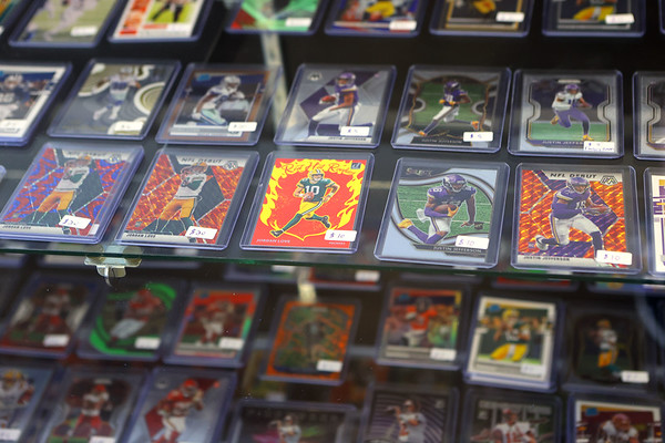 Sports cards for sale at AA Cards & Collectibles, which recently opened at 2941 S. Washington Street. The shop specializes in Pokemon, Magic the Gathering, Yu-Gi-Oh, Digimon and all types of sports cards. They will also be hosting tournaments.<br /> Kelly Lafferty Gerber   Kokomo Tribune