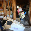 Volunteers help clean up the future home of Tipton's no-kill animal shelter on Saturday, March 13, 2021.<br /> Kelly Lafferty Gerber | Kokomo Tribune