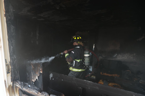 3-1-21<br /> Kokomo firefighters rescued the occupants during a house fire at 110 Versailles Ct on Monday. One of the occupants sustained serious burns.<br /> Tim Bath   Kokomo Tribune