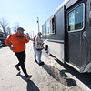 """3-4-21<br /> Leonard Johnson operates Truck'n Hungry a street food truck that has been parked in the """"Pipe Creek Eatery"""" lot since January of 2020.<br /> Tim Bath   Kokomo Tribune"""