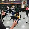 5-12-21<br /> Northwestern HS has won the ISSMA All-Music Award again this year. Band director Jason Snyder directs the Band during class.<br /> Tim Bath | Kokomo Tribune