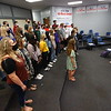 5-12-21<br /> Choir director Kendra Kirby practices with the choir. Northwestern HS has won the ISSMA All-Music Award again this year.<br /> Tim Bath | Kokomo Tribune